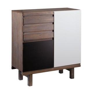 Modern Color Block Chaz Cabinet