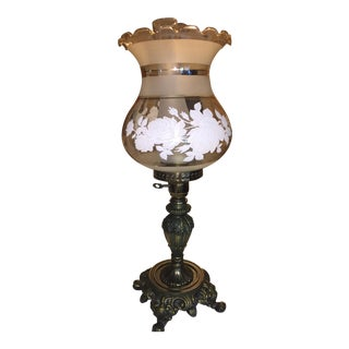 Reproduction Antique Brass Lamp
