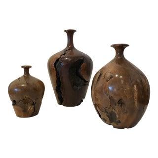 Hap Sakwa Turned Wood Weed Pots (3)