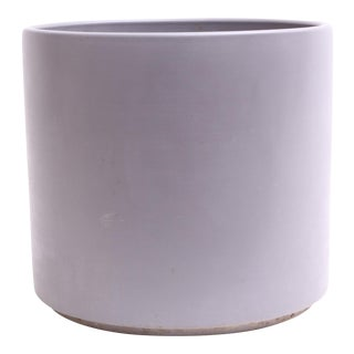 Gainey Ceramics Mid Century Modern Large Gray Planter