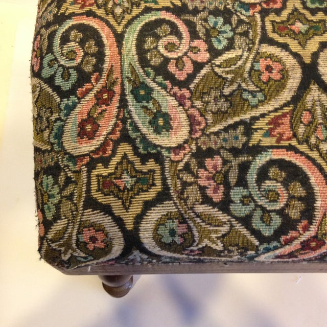 Vintage Electric Warming Ottoman - Image 3 of 4