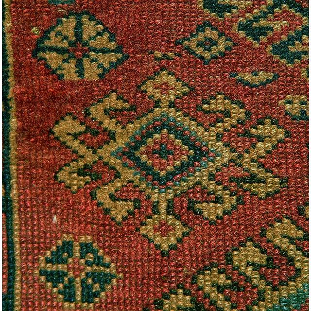 Old Caucasian Oriental Rug - 2′10″ × 3′11″ - Image 5 of 9