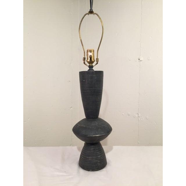 Sculptural Plaster Lamp After Hans Coper - Image 2 of 3
