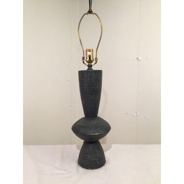 Image of Sculptural Plaster Lamp After Hans Coper