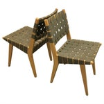 Image of Jens Risom 'Side Chair 666' - A Pair