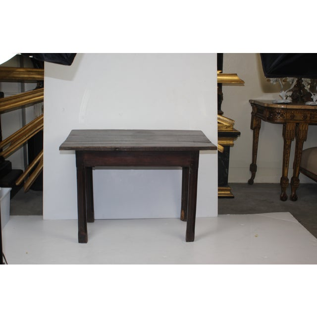 French Provincial Side Table with Drawer - Image 5 of 6