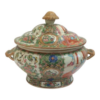 Massive Chinese Export Soup Tureen