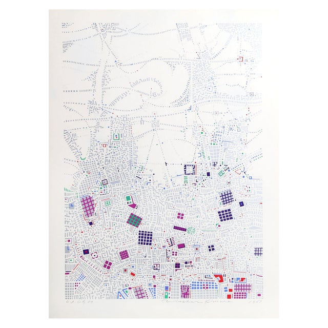 Image of Risaburo Kimura - City 87 Silkscreen