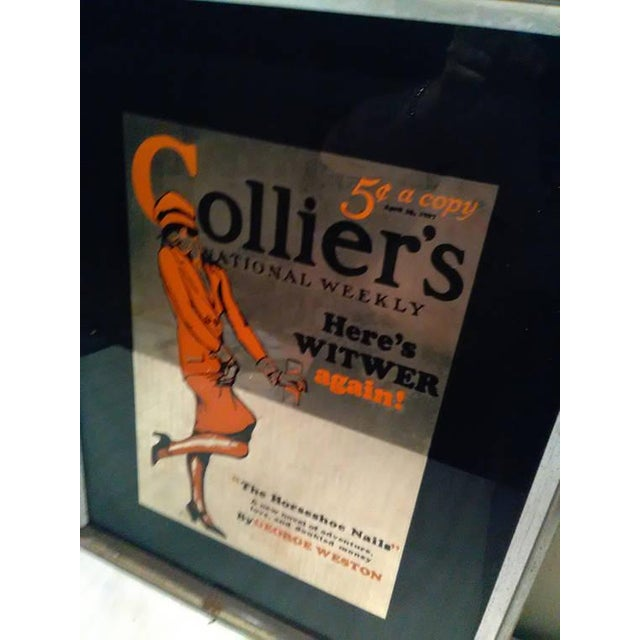 Vintage Colliers National Weekly Advertising Glass - Image 4 of 4