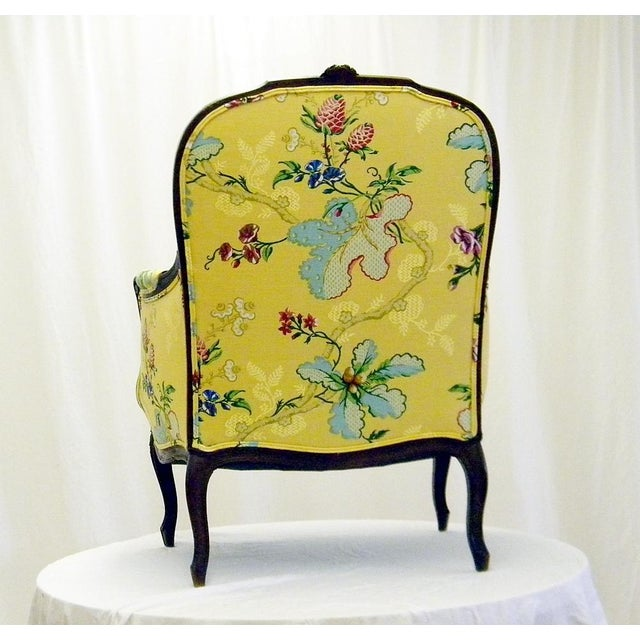 Yellow Lady's Chair With Down Cushion - Image 4 of 7
