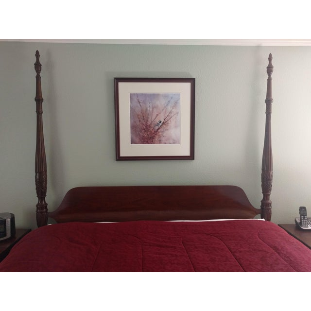 Ethan Allen California King Georgian Court Bed - Image 4 of 6