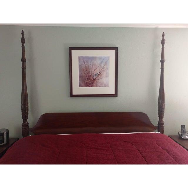 Image of Ethan Allen California King Georgian Court Bed