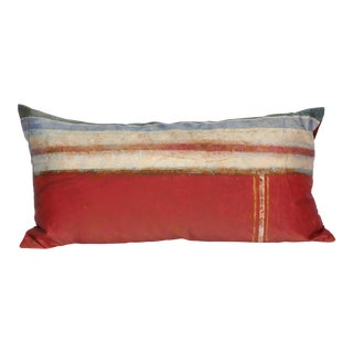 Contemporary Pompeii Silk Pillow