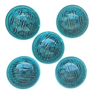 Turkish Tile Art Bowls - Set of 5