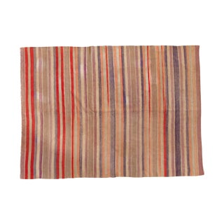 "Vintage Kilim Carpet - 6' X 8'2"""