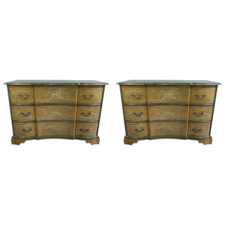 Circa 1900 Venetian Commodes - A Pair
