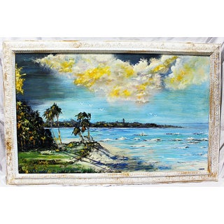 Florida Higwayman Original Beach Painting
