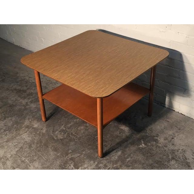 Mid-Century Modern Corner End Table - Image 4 of 10