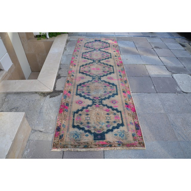 Antique Persian Runner Rug - 3′2″ × 9′11″ - Image 2 of 6