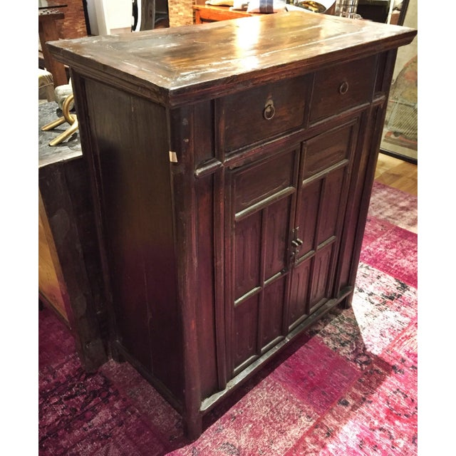 Chinese Antique Tapered Cabinet - Image 4 of 11