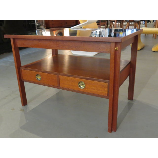 Vintage Fredericia Stole Teak Side Table - Image 4 of 8