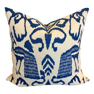 Quadrille Fabrics Accent Pillow in Bali Isle