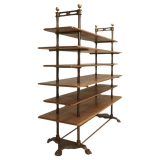 French Antique Etagere or Display Stand