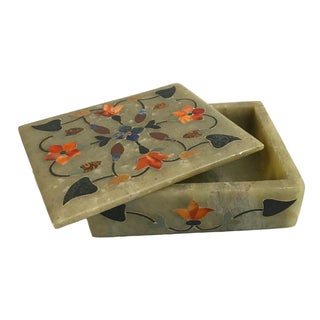Hand-Painted Jade Box