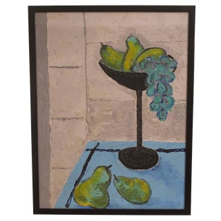 Grapes and Pears Still Life Painting