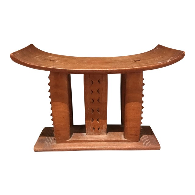 AFrican Wooden Bench - Image 1 of 4