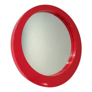Red German Mirror