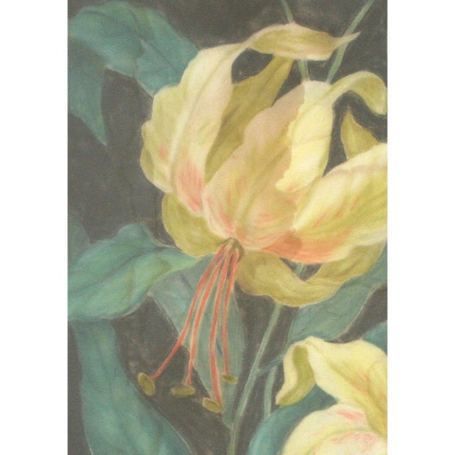 Original Floral Still Life Watercolor Painting - Image 2 of 5