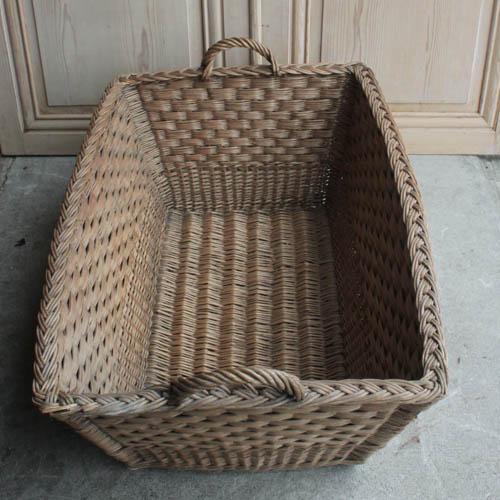 Vintage French Laundry Day Basket - Image 3 of 7
