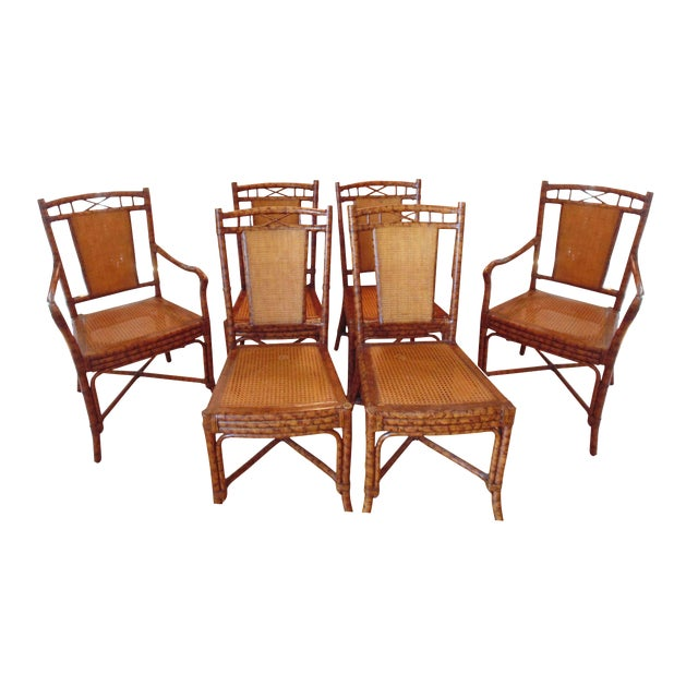 Image of Roche Bobois Dining Room Chairs - Set of 6