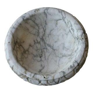 Antique Alabaster Bowl