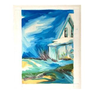 Nautical Modern Seaside Painting