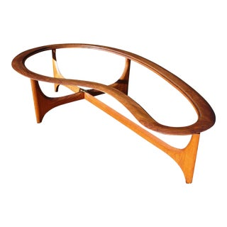 Mid-Century Modern Biomorphic Coffee Table by Adrian Pearsall