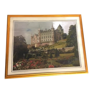 Traditional Framed Castle Painting