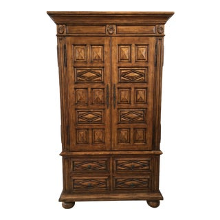 Contemporary Spanish-Style Armoire