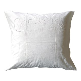 European German Blessing Pillow Sham