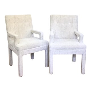 Vintage Parsons Chairs - A Pair