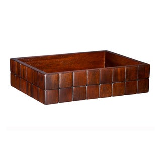 Selamat Designs Mahogany Barclay Amenities Tray