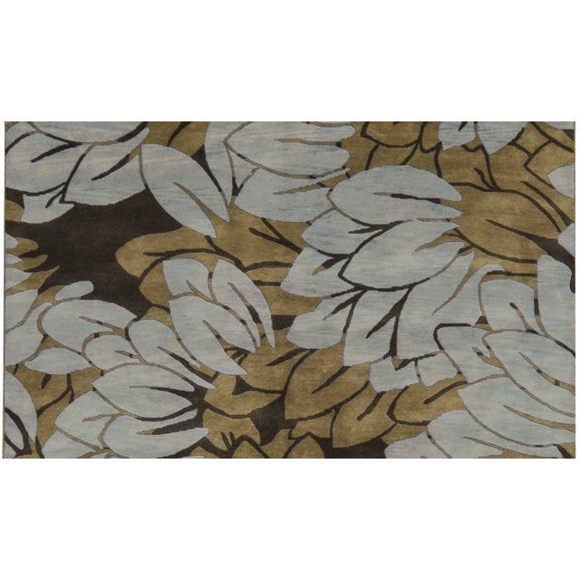 """Contemporary Hand Woven Rug - 6'1"""" x 9'2"""" - Image 2 of 3"""