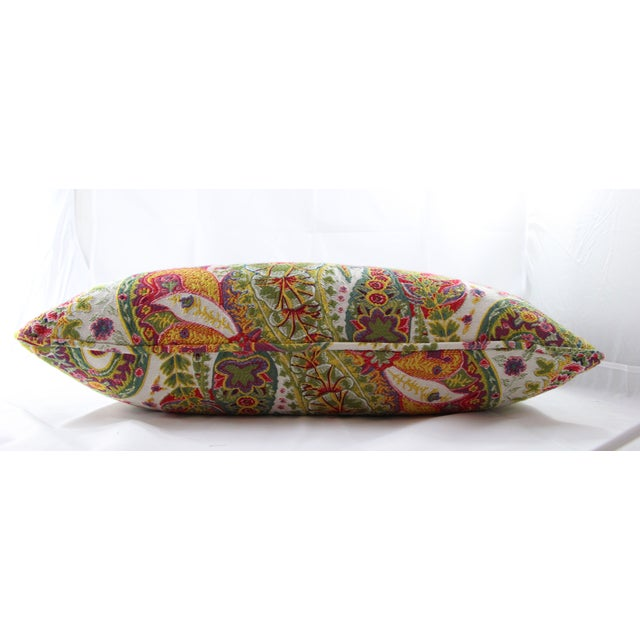 Multi Color Paisley Pillow - Image 5 of 5
