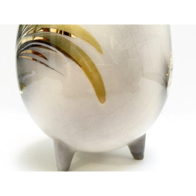 Mid-Century Sascha Brastoff Firebird Vase, Signed - Image 6 of 9