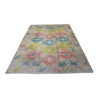 Oriental Turkish Antalya Rug - 6.6' x 9.3'