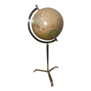Chrome Old World Globe