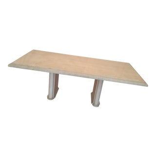 Kreiss Travertine Dining Table