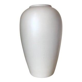 Haeger Cream Ceramic Vase