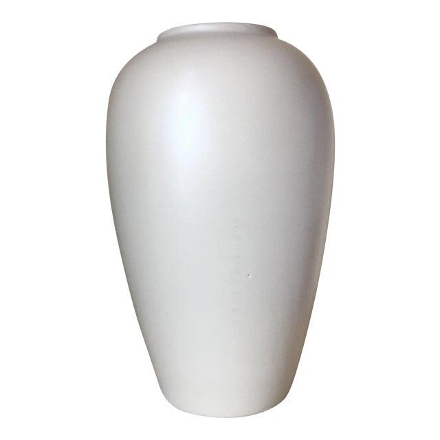 Image of Haeger Cream Ceramic Vase